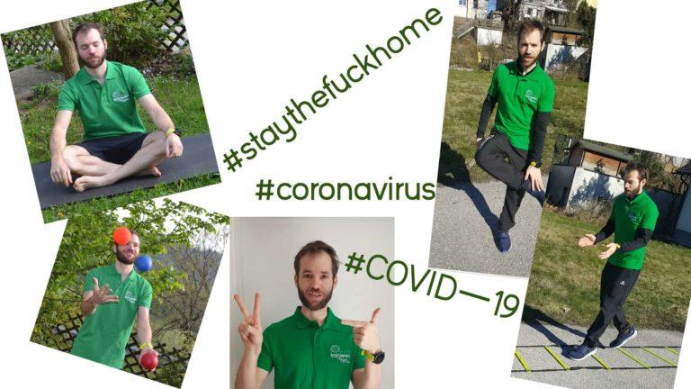 Ablenkung/Training während dem Coronavirus